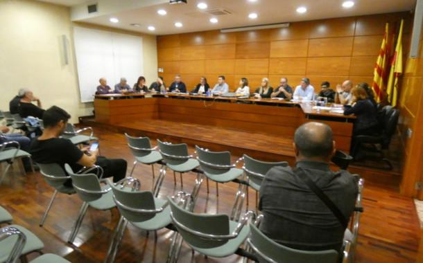 L'Ajuntament celebrarà aquesta tarda el ple ordinari de novembre