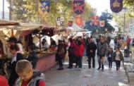 L'avinguda de l'Onze de Setembre va acollir el cap de setmana la Fira Medieval