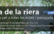 La Llagosta se suma al primer Dia de la Riera, que se celebrarà diumenge a Palau