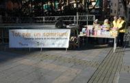 La Ràdio Marató es va celebrar ahir a la plaça d'Antoni Baqué
