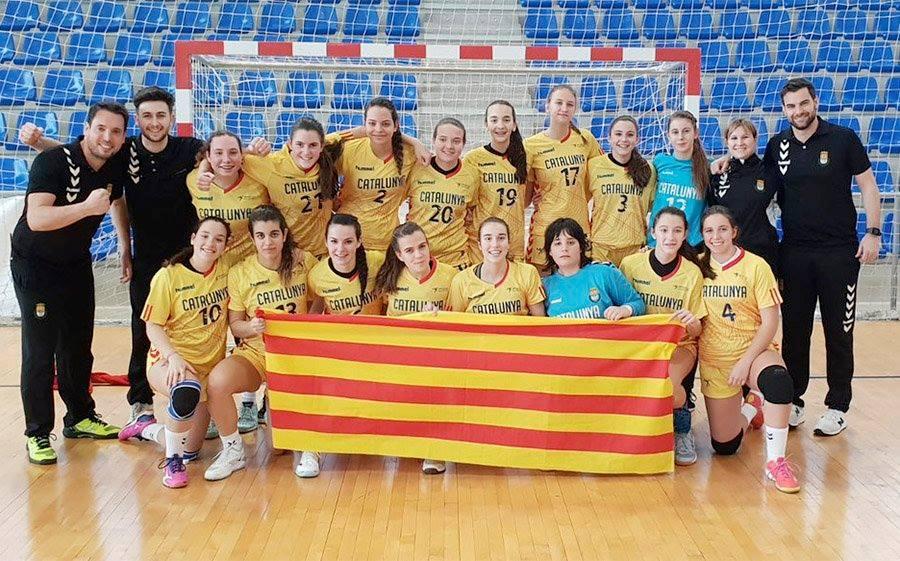 Ariadna Muñoz, campiona d'Espanya amb la selecció catalana cadet