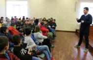 Els estudiants de quart de l'Escola Safa han visitat avui l'Ajuntament