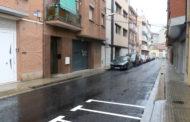 Ja han finalitzat els treballs de reasfaltatge de diversos carrers