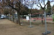 Comencen els treballs de renovació dels parcs infantils