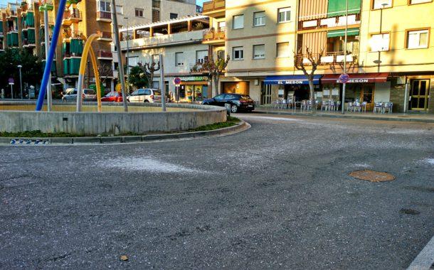L'Ajuntament tira sal pels carrers davant la previsió de gelades