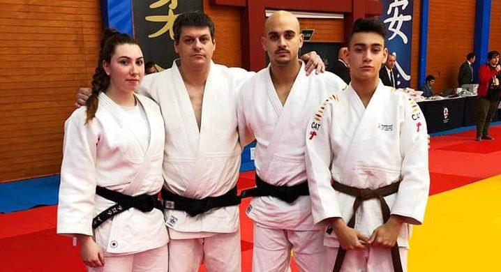Sergi Pons i Héctor Roura es pengen un bronze a la segona prova estatal de katas de judo
