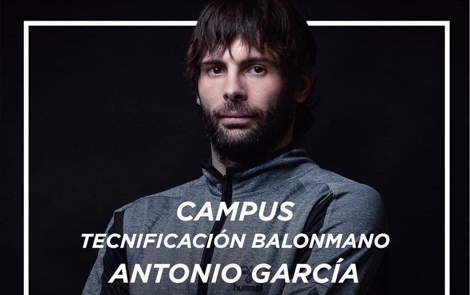 S'obre el període d'inscripcions del Campus de Tecnificació d'Handbol d'Antonio García