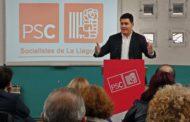 Els socialistes llagostencs han presentat avui a Óscar Sierra com a cap de llista