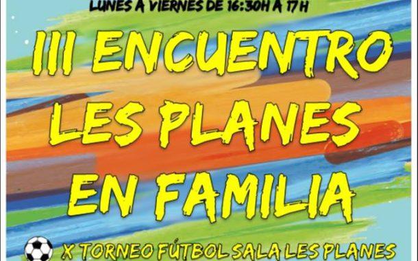 L'AMPA de l'Escola les Planes celebrarà diumenge una trobada en família