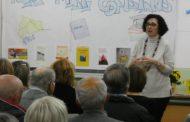 Més d'una cinquantena d'alumnes, a la xerrada de Núria Martí a l'Escola d'Adults