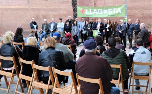 +LLAGOSTA presenta la seva llista a les municipals