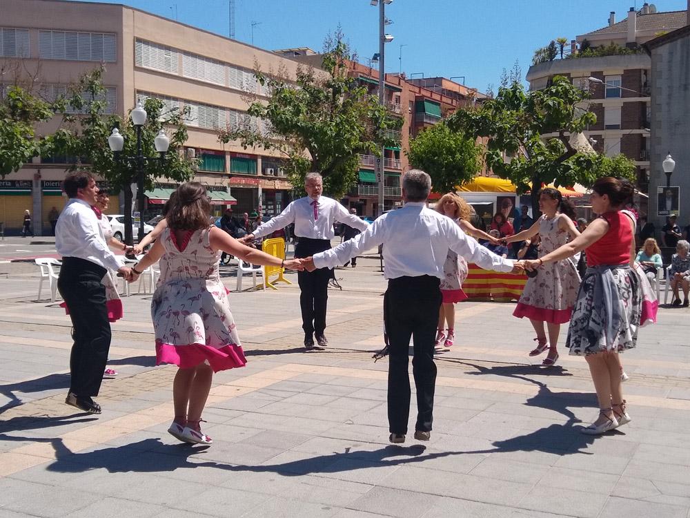 La plaça d'Antoni Baqué va acollir ahir la 43a Ballada de Gitanes