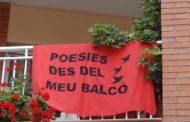 Avui es desenvolupa una nova edició de Poesies des del meu balcó