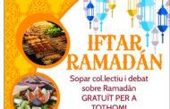 Demà dissabte, sopar i debat sobre el Ramadà