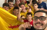 L'infantil A del FS Unión Llagostense, subcampió de la Final a Quatre