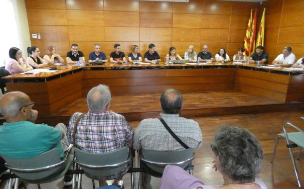 El Ple aprova diversos tràmits relacionats amb el nou mandat