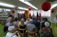 La Biblioteca celebra els seus 25 anys a Can Pelegrí