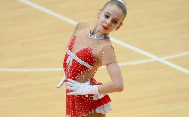 Les llagostenques Paula i Clàudia Roman es classifiquen per disputar el Campionat de Catalunya de patinatge artístic