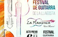 La Flamenca farà demà un acte previ al Festival de Guitarra