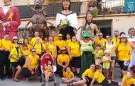 Més d'una trentena de persones van anar dissabte amb els gegants a Tordera