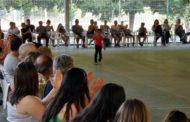 Una trentena de participants al festival de patinatge artístic del Club Patí la Llagosta