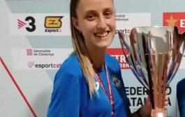 Estefa Jémez guanya la Copa Catalunya amb la Penya Esplugues