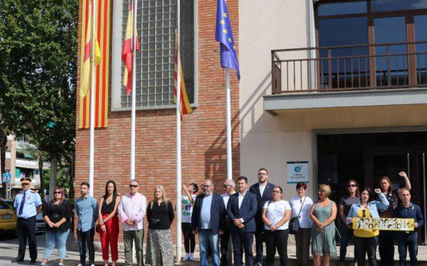 La Llagosta se suma avui a la celebració de la Diada de Catalunya