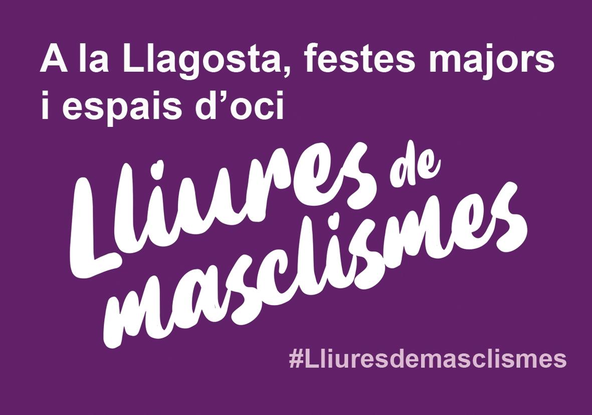 La Festa Major comptarà amb un punt d'informació contra la violència masclista