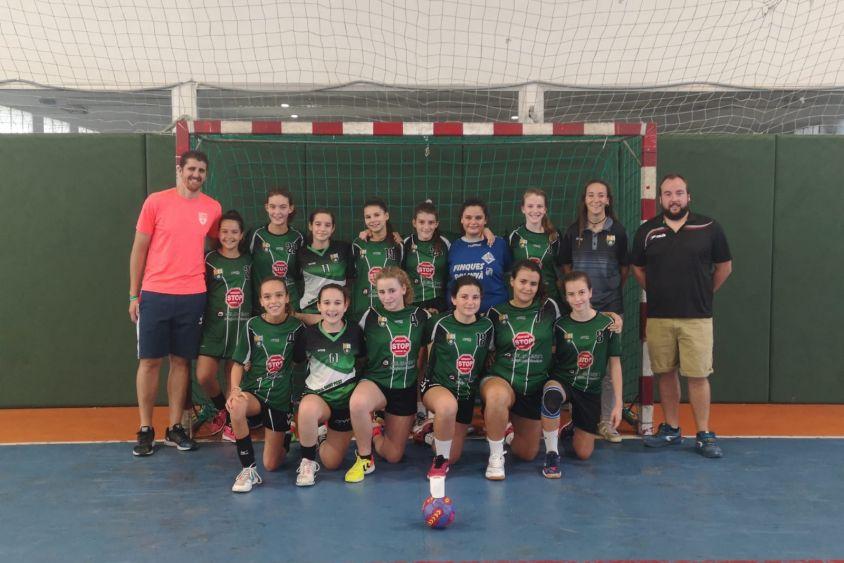 El Joventut Handbol comparteix amb el CH Sant Fost un equip infantil femení