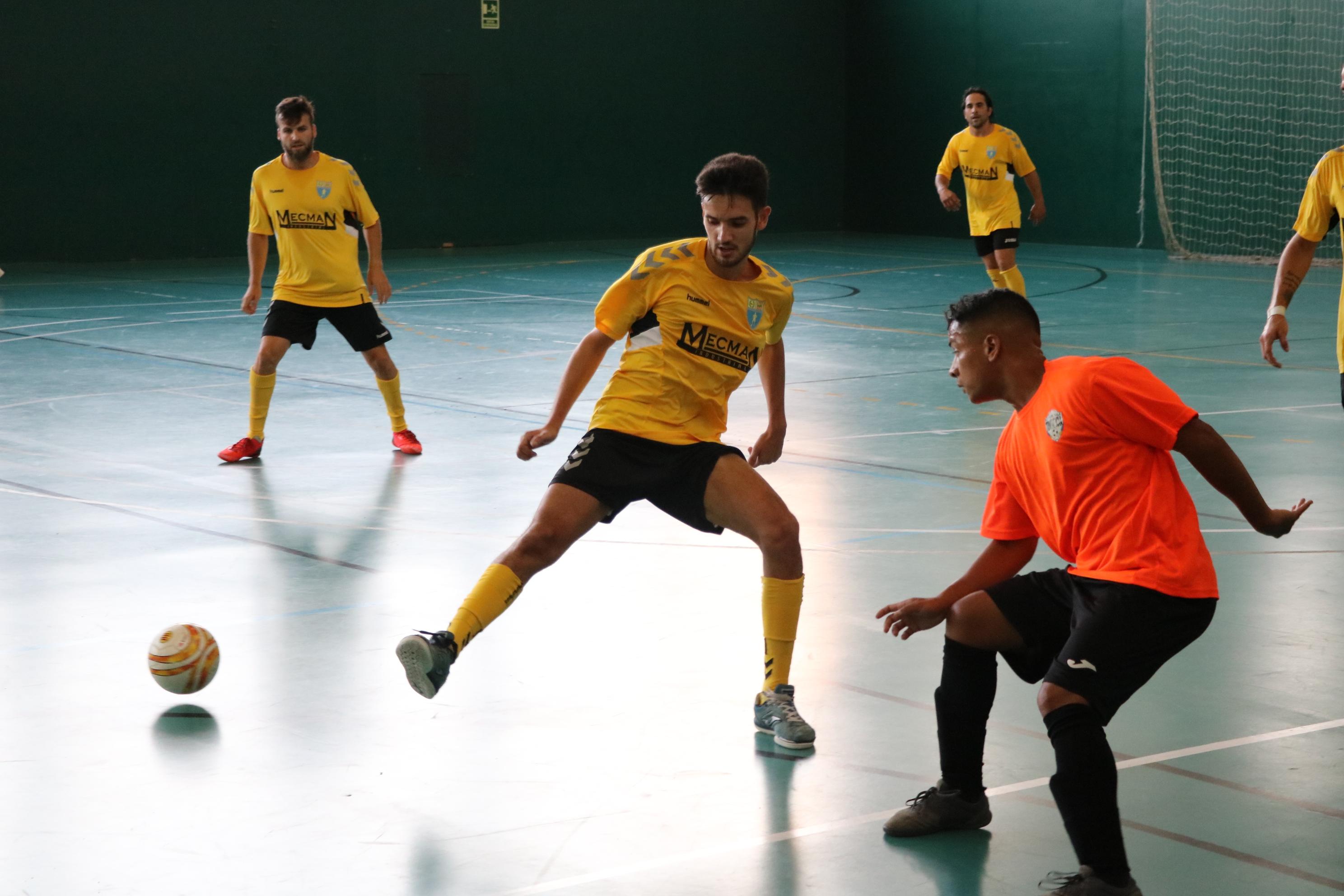 Victòria ajustada del FS Unión Llagostense a Teià (4-5)