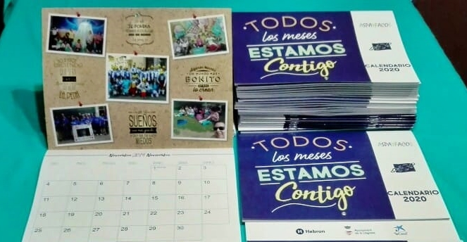 Aspayfacos posa a la venda el seu calendari de 2020