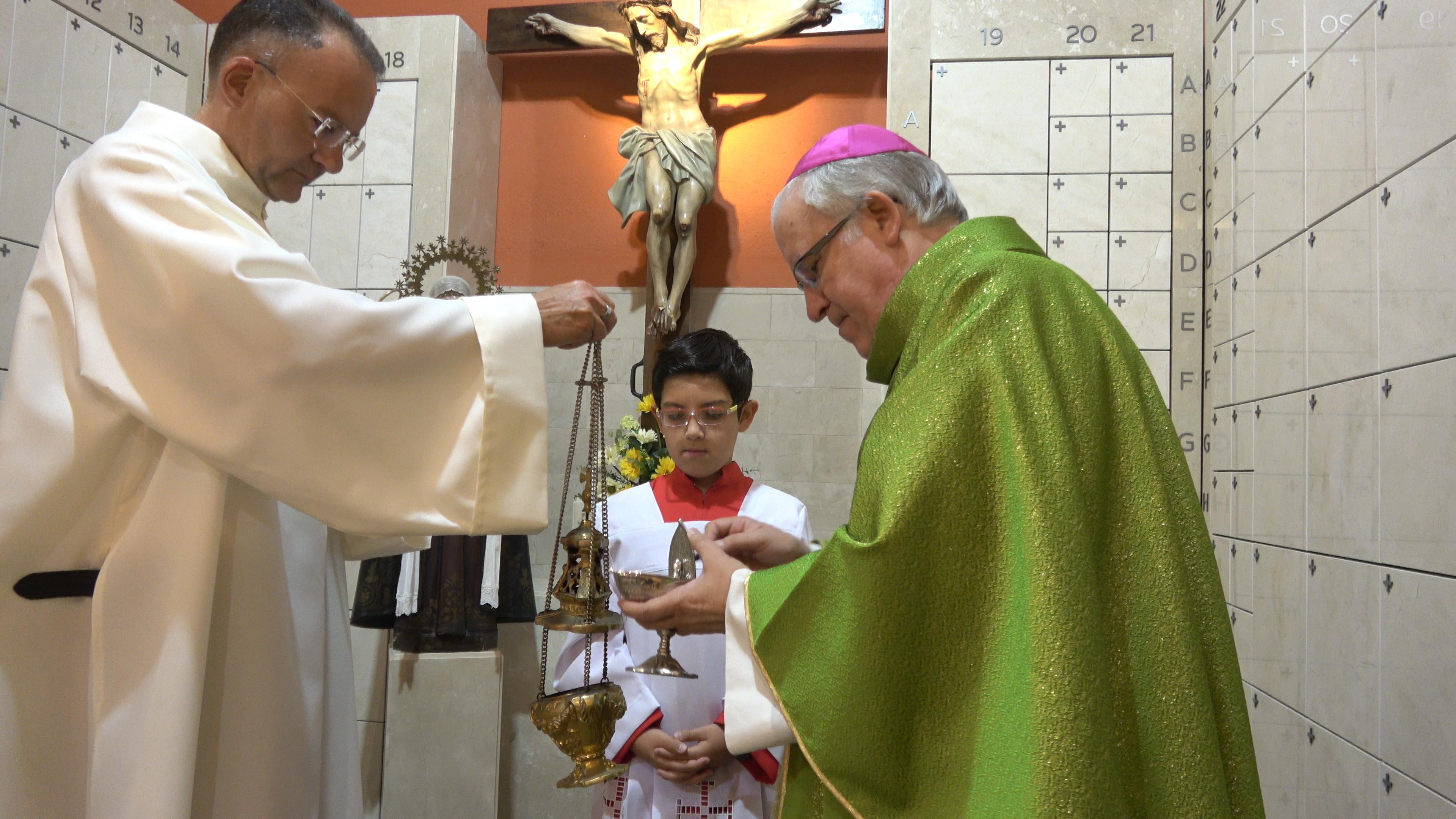 Es posa en marxa el columbari de l'Església de Sant Josep