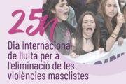Avui, commemoració del Dia Internacional de lluita per a l'eliminació de les violències masclistes