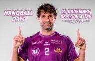 L'Handball Day d'Antonio García Robledo se celebrarà dilluns amb un centenar d'infants