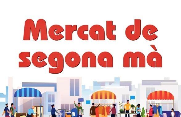 La plaça d'Antoni Baqué acollirà dissabte un mercat de segona mà