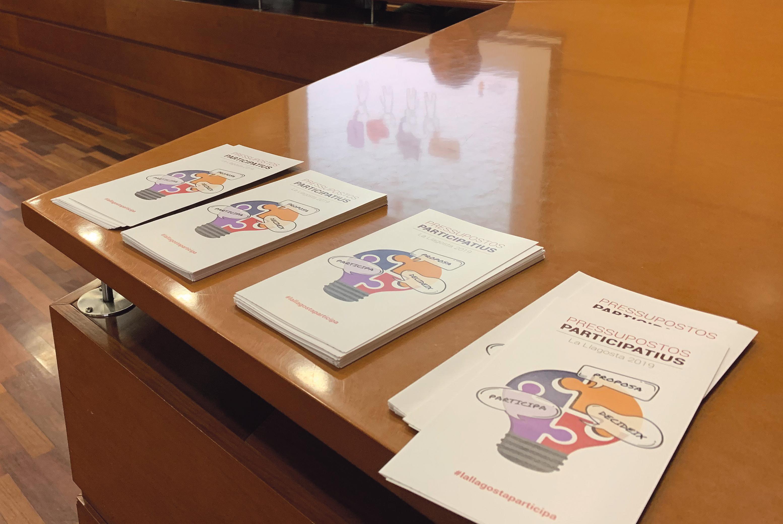 El 28 de gener, presentació del llistat de propostes dels pressupostos participatius que seran votades
