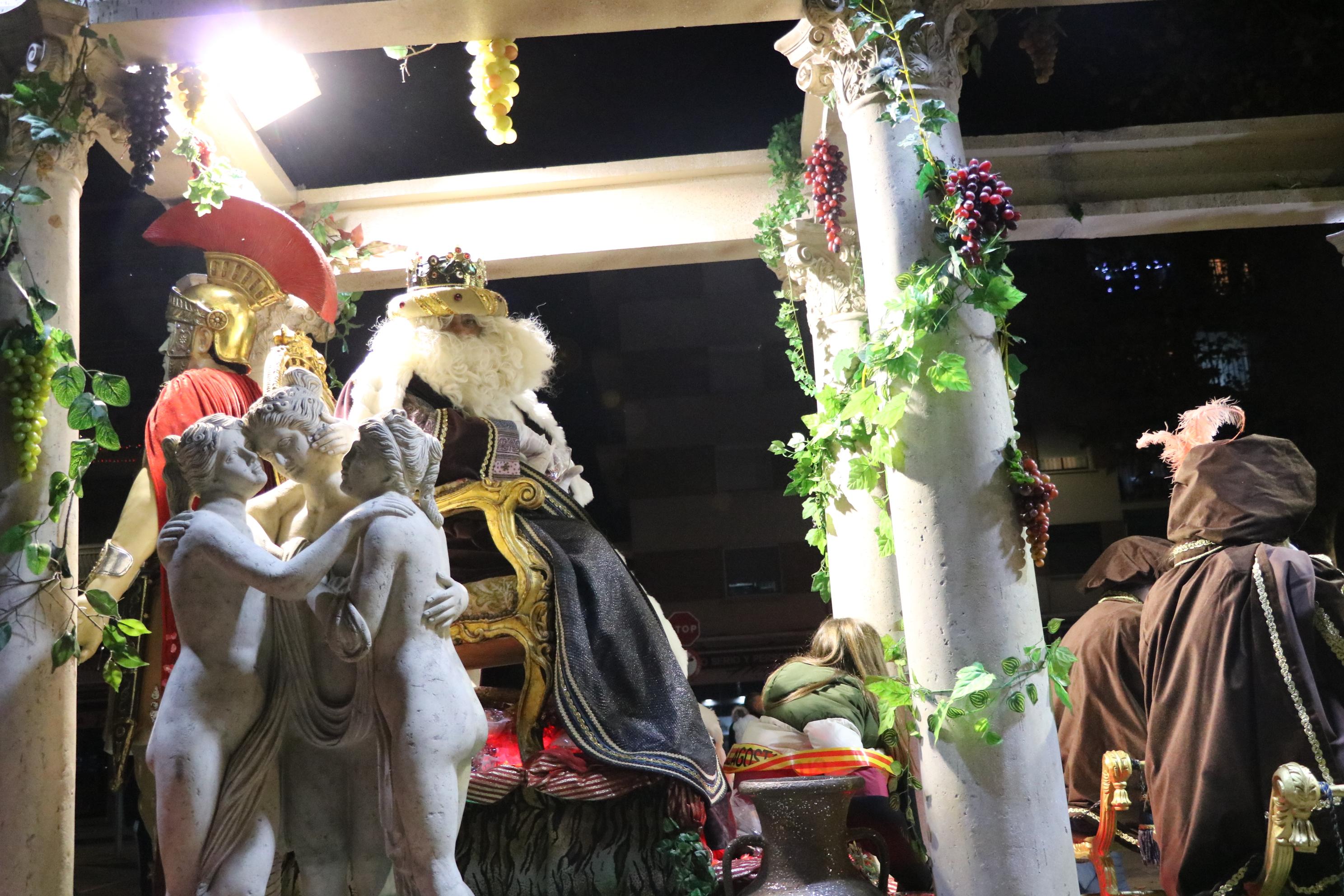La Cavalcada dels Reis va posar el punt final a la celebració del Nadal