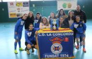 La Concòrdia oferirà divendres el trofeu de la lliga 2018-2019 a l'Ajuntament