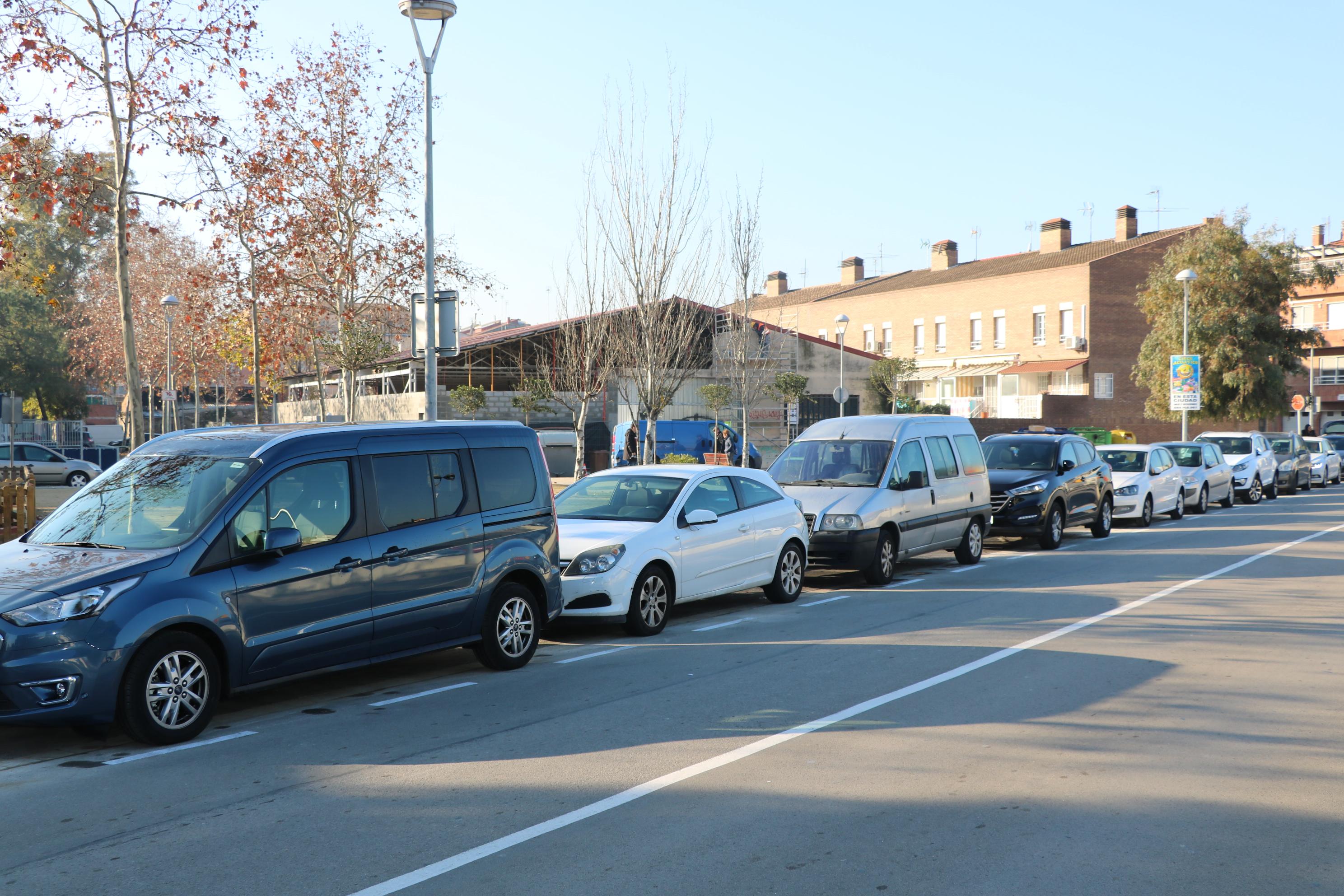 Habilitada una nova zona d'aparcament al carrer de Joaquim Blume
