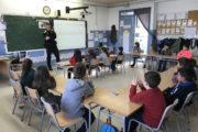 La Policia Local imparteix classes de seguretat viària