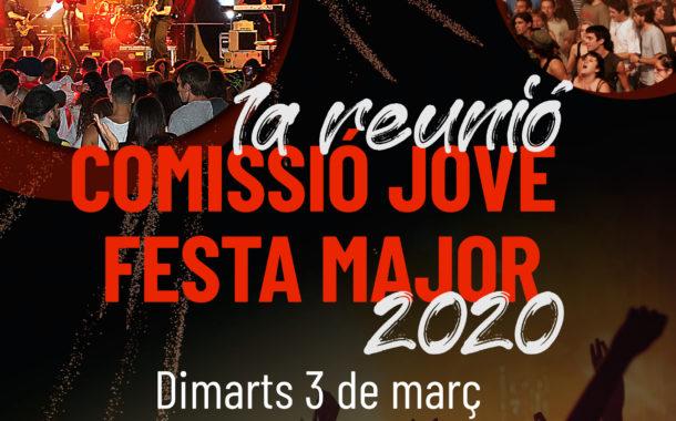 La Comissió Jove de Festa Major començarà a treballar el 3 de març