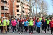 Gairebé 200 participants en la passejada per a la gent gran de la Llagosta