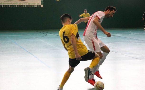 Els dos sèniors del FS Unión Llagostense segueixen a la Copa Federació