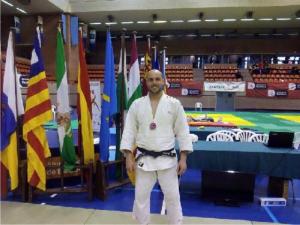 Daniel Buendía. (Imatge facilitada pel Club de Judo de la Llagosta)