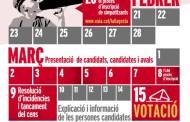 EUiA de la Llagosta valida un cens de 46 persones per a les primàries del 15 de març