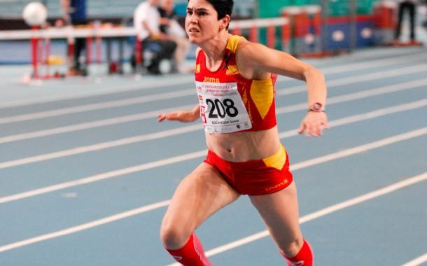 Sonia Bocanegra, campiona d'Europa d'atletisme veterà a Polònia