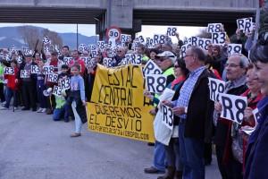 Moment final de la manifestació