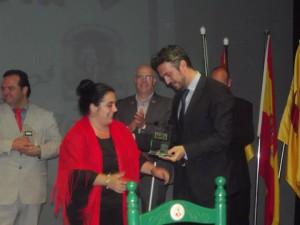 La guanyadora de l'any passat, Raquel Expósito, en una imatge facilitada per la Casa de Andalucía.