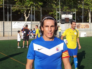 Juan Carlos  Arroyo, jugador del Viejas Glorias