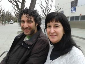 David Amorós i Sandra Mantas